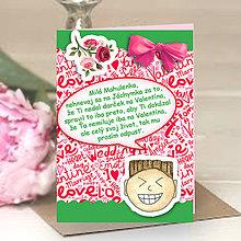 Papiernictvo - Valentínky pre zábudlivcov - 6323043_