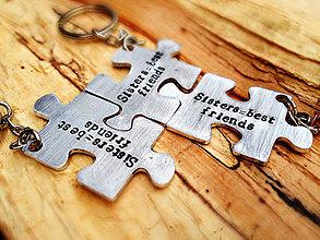 Kľúčenky - PUZZLE / 2mm hrúbka / cena za 3ks - 6328506_