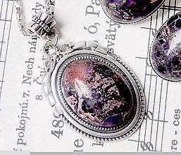 Náhrdelníky - Violet Variscite & Pyrite - 6324704_