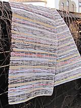 KOBEREC tkaný 70x300 cm Šedý mix
