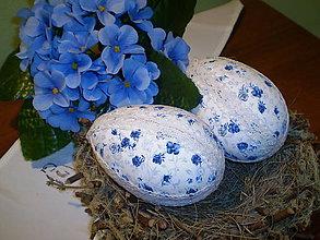 Dekorácie - Veľkonočné vajíčko - 6327650_