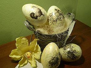 Dekorácie - Veľkonočné vajíčko - 6327710_