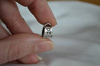 Korálky - Pandorková korálka kabelka, 0.60€/ks - 6324844_