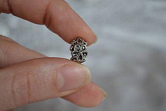 Korálky - Pandorková korálka kvety, 0.40€/ks - 6325103_