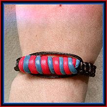Náramky - Twister - shamballa náramok - 6326161_