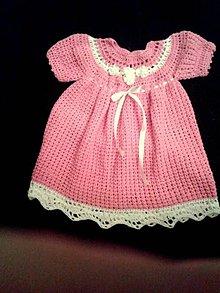 Detské oblečenie - šatočky Linôčka - 6334078_