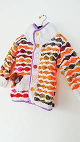 Detské oblečenie - Svetrík farebný... - 6329362_