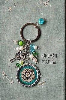 Kľúčenky - green/blue - 6329178_