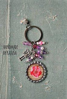 Kľúčenky - pink II. - 6329190_