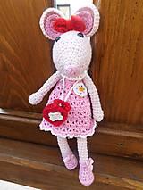 - Myška v ružových šatách - 6332692_