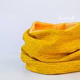 Šály - Elegantní v šafránově žluté.. - 6332586_