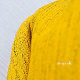Šály - Elegantní v šafránově žluté.. - 6332588_