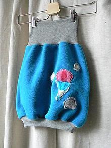 Detské oblečenie - sukňa pohodovka v oblakoch - 6330888_