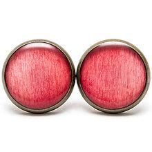Náušnice - Old Pink Effect - 6328786_
