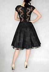 Šaty - Koktejlové celokrajkové šaty rôzne farby - 6330574_