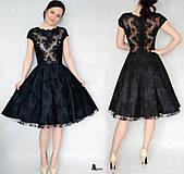 Šaty - Koktejlové celokrajkové šaty rôzne farby - 6330648_