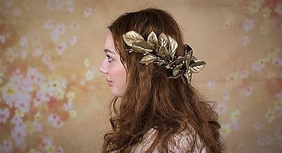 Ozdoby do vlasov - Vavrínový venček - 6331668_