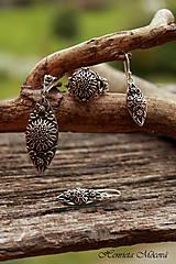 Sady šperkov - čipka v striebre - 6330493_