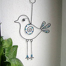 Dekorácie - vtáčik II - 6334366_