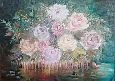 Obrazy - ,,Ružový sen
