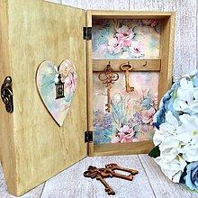 Krabičky - Skrinka na kľúče a poštu - 6336057_