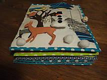 Quiet book - Textilná knižka