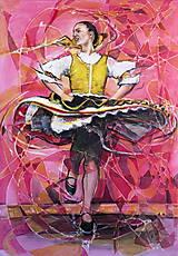 Obrazy - Tanec v duši - 6335915_