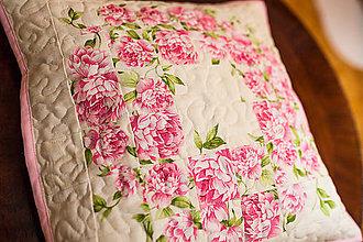 Úžitkový textil - Návlek na vankúš - venček - 6337021_