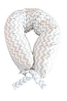 Úžitkový textil - _HAJA ÓČKO & Cik Cak WHiTe & GRey 170 cm - 6342336_