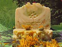Slunečný Nechtík - Prírodné Mydlo