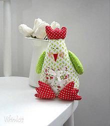 Dekorácie - pipi NÁ ...jarná (zelená) - 6339455_