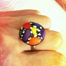 Prstene - Pestrý prsteň - 6342078_