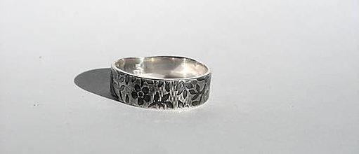Prstene - Kvetinkový prsteň - 6345936_