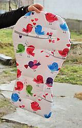 Textil - Podložka prileteli vtáčiky - 6343652_