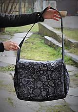 Veľké tašky - Praktická taška XXL na kočík folk - 6343764_