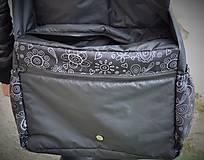 Veľké tašky - Praktická taška XXL na kočík folk - 6343769_