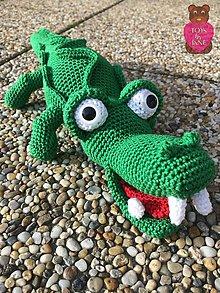 Hračky - Krokodýl Kroko - 6345986_