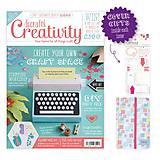 Návody a literatúra - Creativity časopis č. 65 + Diár a nálepky - 6346067_