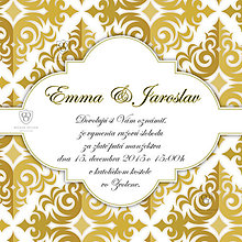 Papiernictvo - Svadobné oznámenie - Kráľovná Slnka - 6345011_