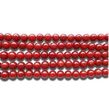 Minerály - Červený koral 6 mm - 6344684_