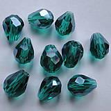 - Skl.brús.kvapka 7x5mm-emerald-1ks - 6347356_