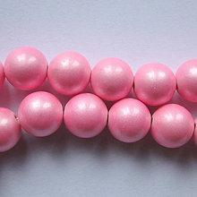 Minerály - Prír.kameň 10mm-1ks (ružová) - 6345563_