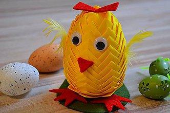 Dekorácie - Veľkonočná sliepka MiMi - 6345555_
