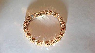 Náramky - Gold  stones - 6346387_