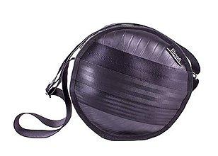Kabelky - Polo black - taška z bezpečnostních auto pásů - 6346381_