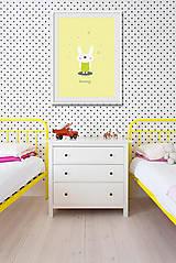 Grafika - Bunny / Tištěná ilustrace - 6343605_