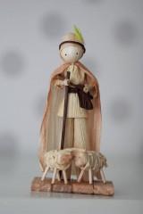 Dekorácie - Pastier s ovečkami - 6347039_