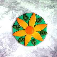 Magnetky - Maxi magnetky (kvet) - 6345554_