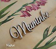 Papierový výrez Maminke