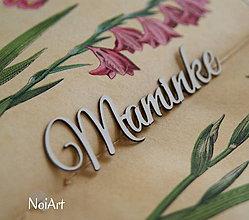 Papier - Papierový výrez Maminke - 6351371_